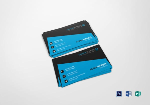 seo manager business card template