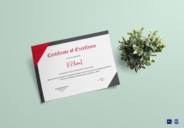 sailing certificate template