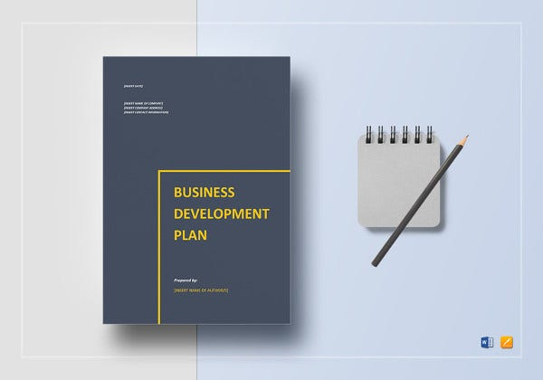 simple business development plan