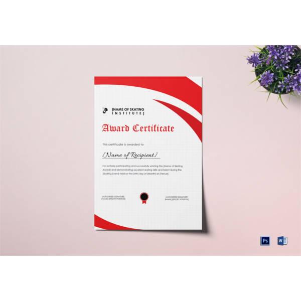 skating-award-certificate-template