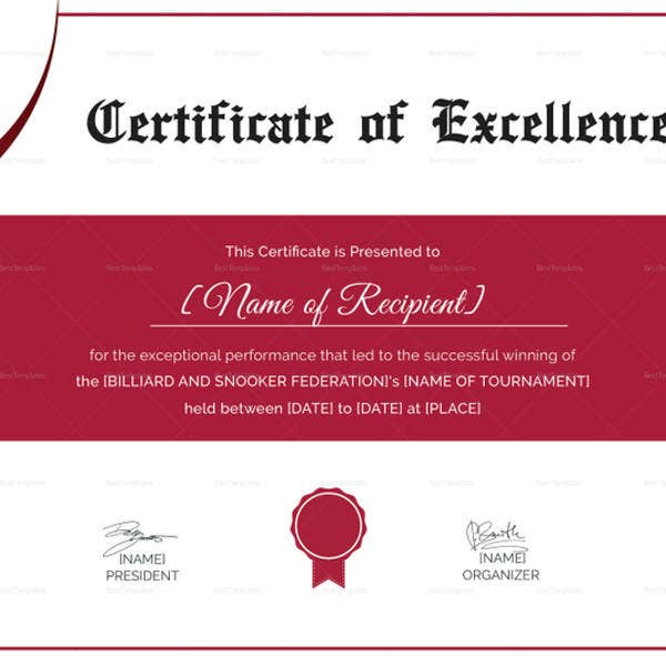 snooker-excellence-certificate-template