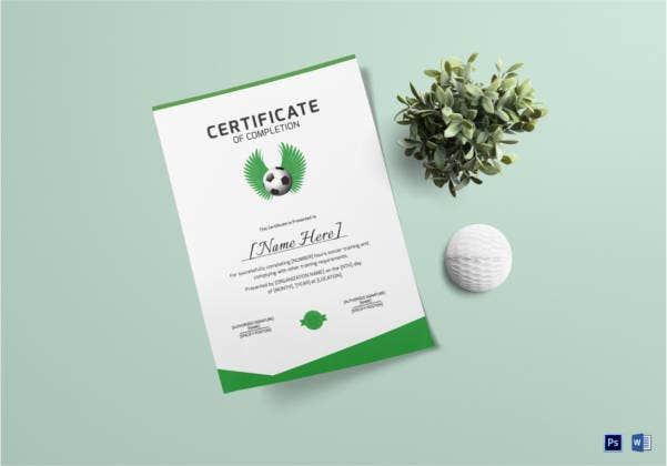 soccer-completion-certificate-template