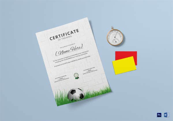 soccer-training-certificate-template