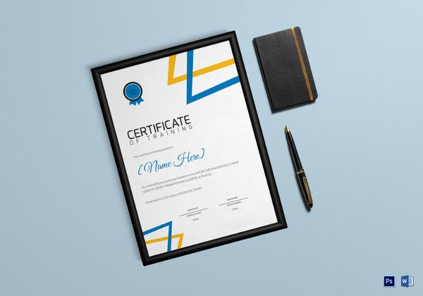 sports-day-training-certificate-template
