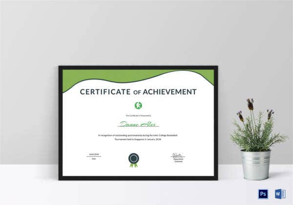 sportsmanship-achievement-certificate-template