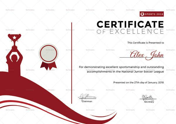 sportsmanship-excellence-certificate-template
