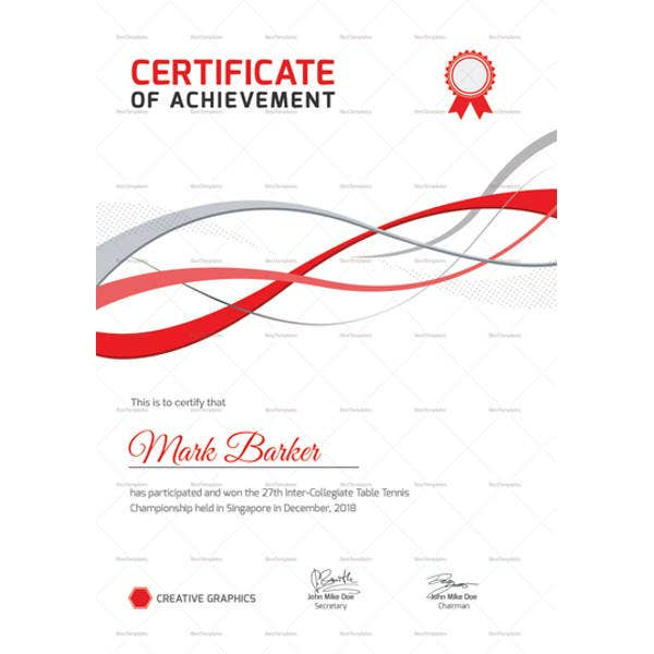 table tennis certificate template1