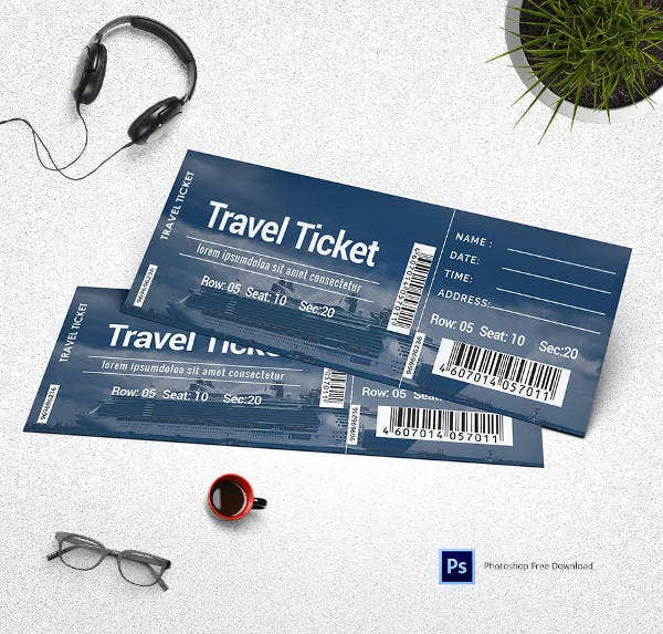travel-ticket-template