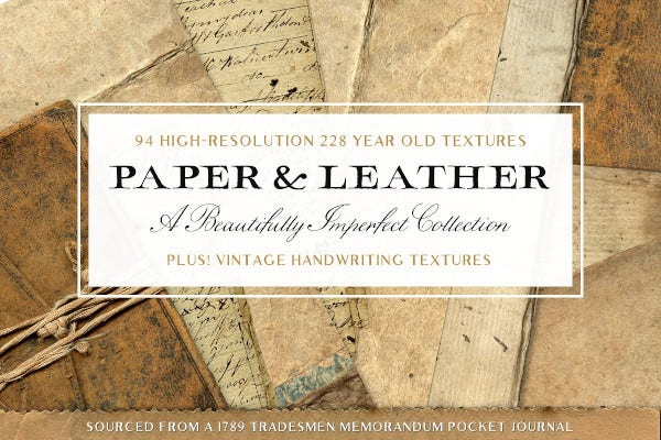 vintage leather paper textures