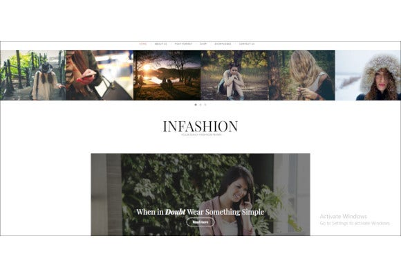 viral fashion blog wordpress theme