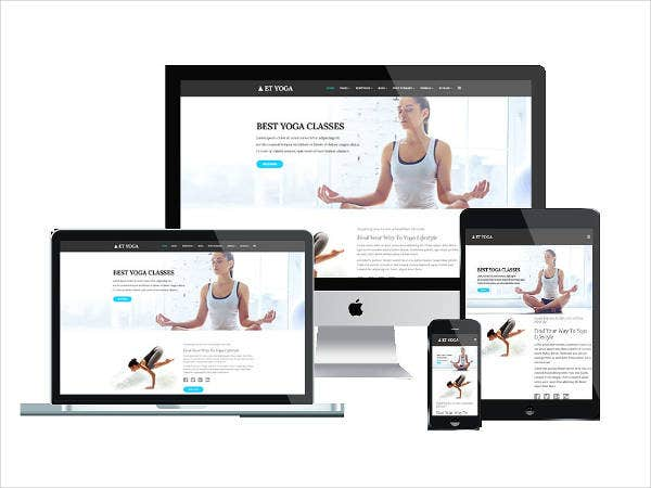 yoga joomla template