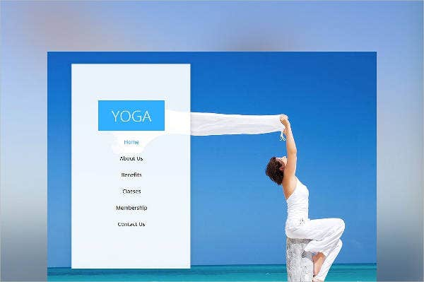 yoga one page multi purpose