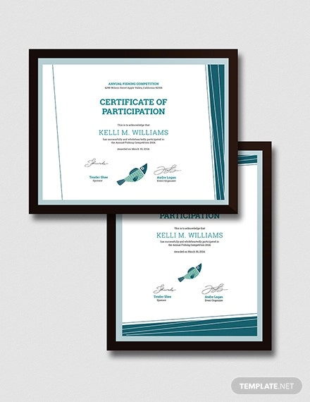 fishing certificate1