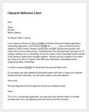 Reference letter template 102 free word pdf document downloads character reference letter spiritdancerdesigns