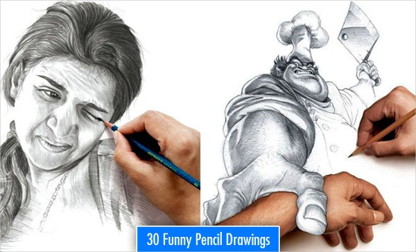 Most Funniest Pencil Drawing