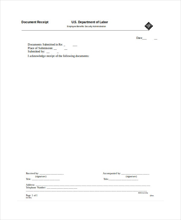 Receipt Template - 13+ Free Word, Pdf Documents Download | Free