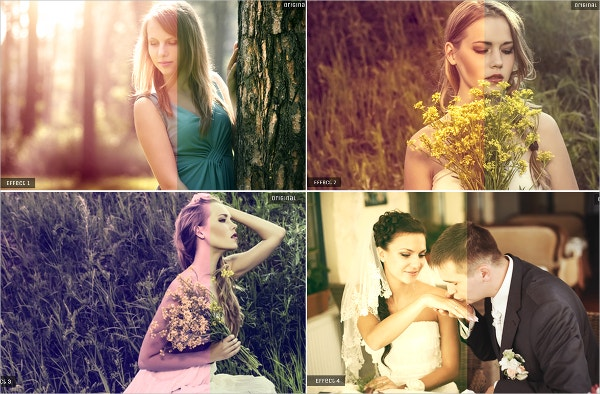 12 Free Photoshop Actions