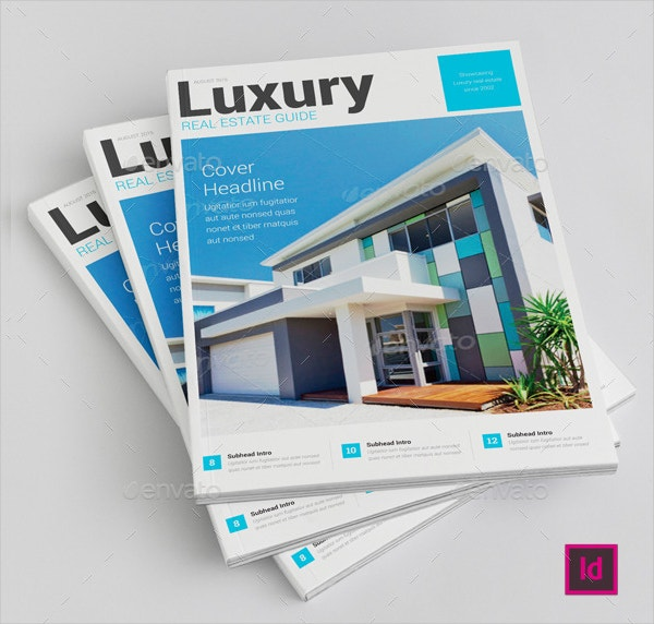 19 luxury brochure template free psd ai vector eps for Property brochure template