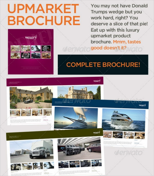 Upmarket Luxury Brochure