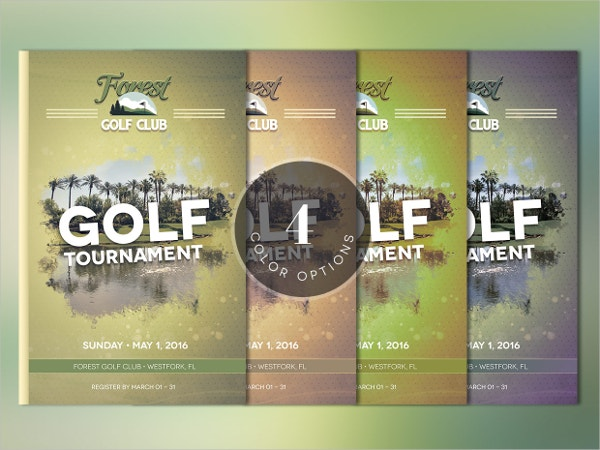 Golf Luxury Brochure Template