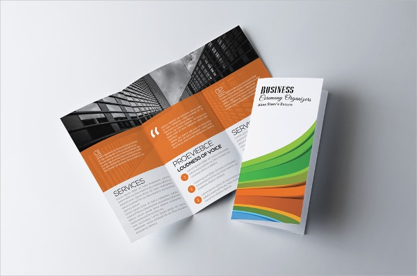 Luxury Business Agency Tri Fold Brochure