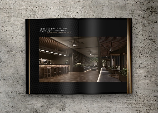 Luxury Property Brochure Design Concept