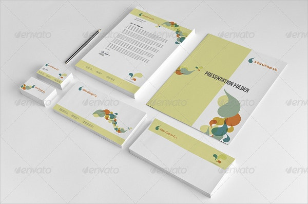 Professional Stationery Pack Design