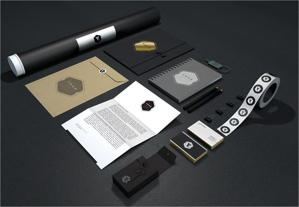 Branding Identity Stationery Mock Up