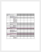 Keyword Gap Analysis Spreadsheet Template