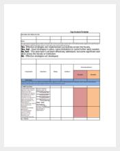 Skill Gap Analysis Spreadsheet Template