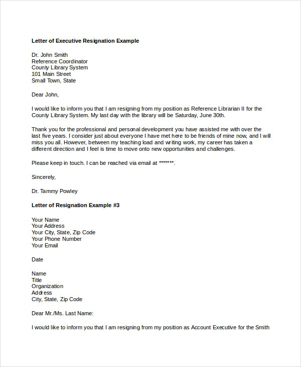 executive-resignation-letter