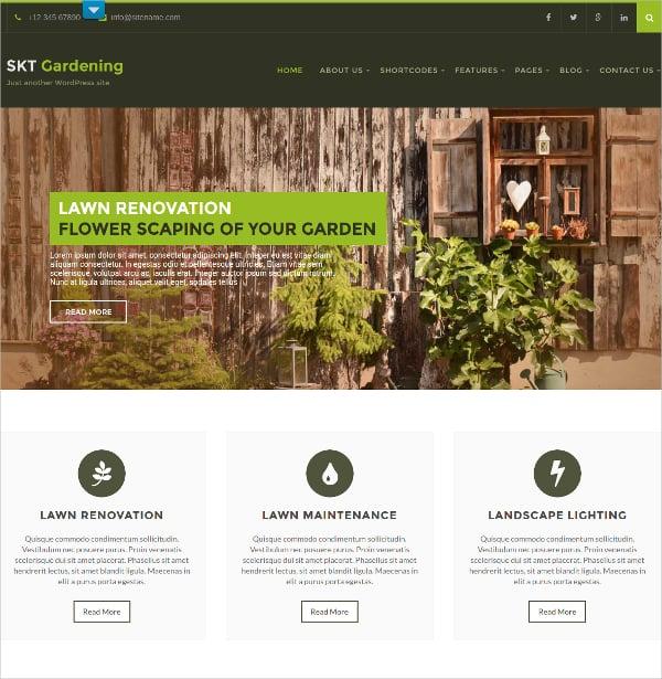 simple gardening landscaping wordpress theme 48