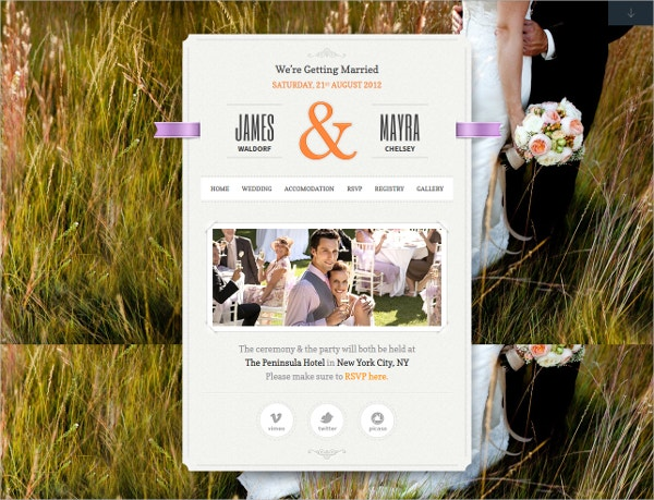 Married Family WordPress Theme