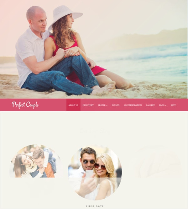 Family Event WordPress Theme