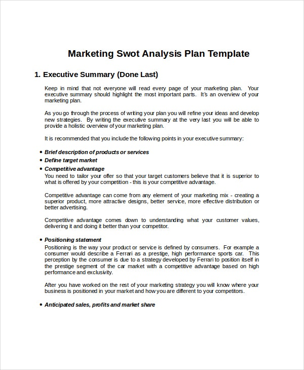 marketing-swot-analysis-template