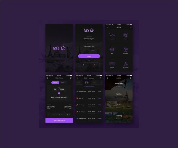 Travel Mobile UI Kit
