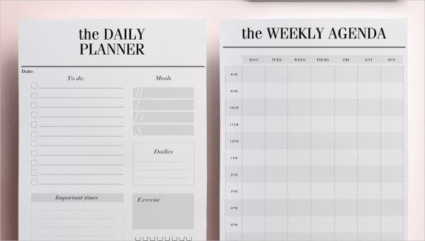 dailymealfoodplannertemplates