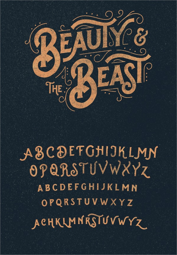splandor typeface vintage font