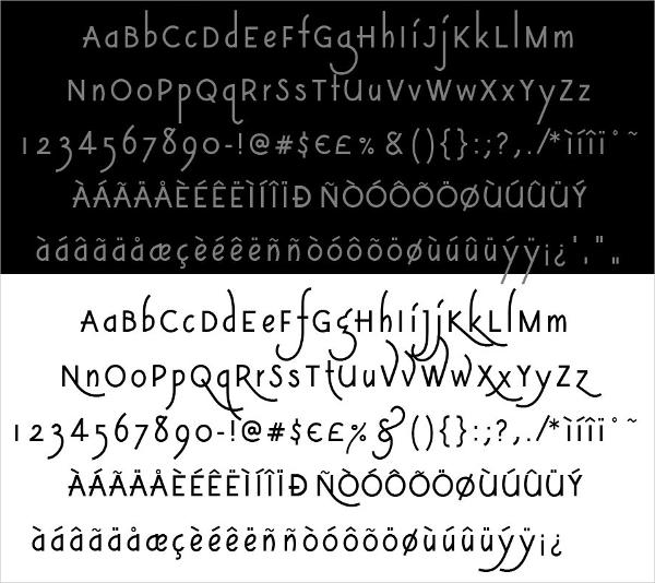 Modern Vintage Font