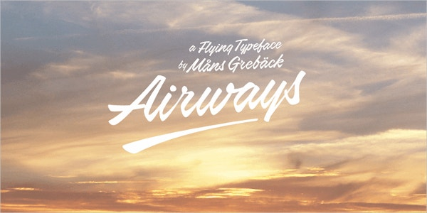 Airways Vintage Font