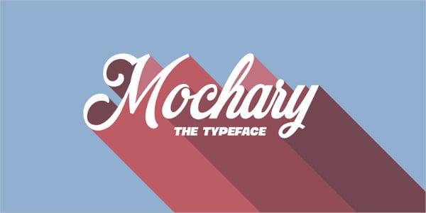mochary vintage font
