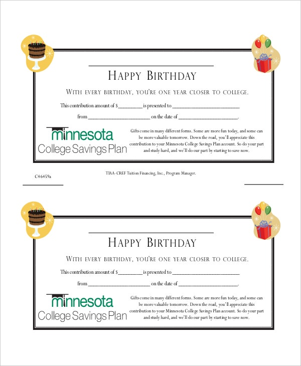 Gift certificate template 8 free word pdf document downloads birthday gift certificate template yadclub Gallery