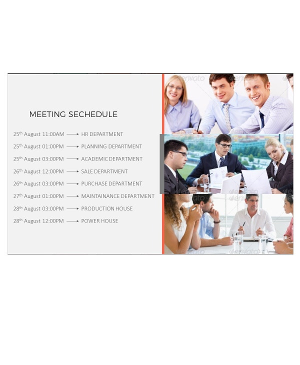 meeting minutes power point presentation