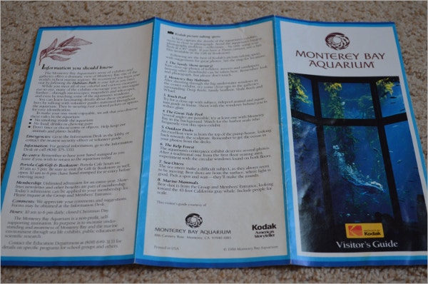 Vintage Aquarium Brochure