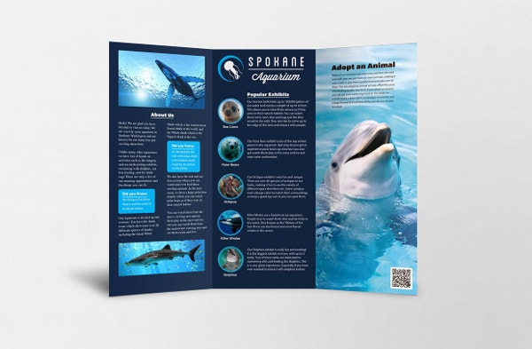 Spokane Aquarium Brochure