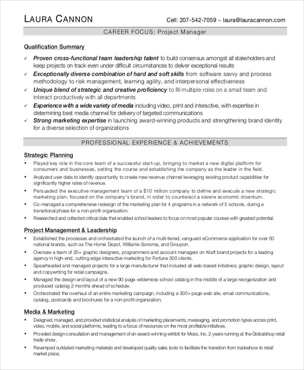 interactive resume template 6 free word pdf document