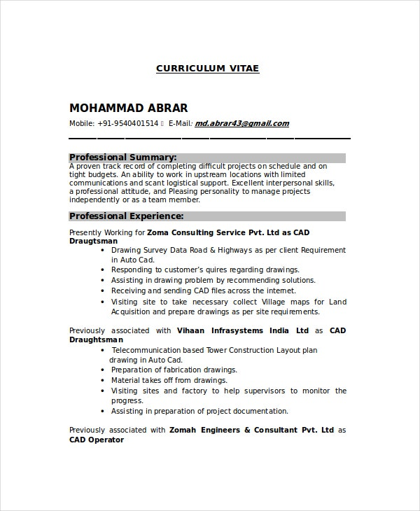 Cover Letter Chemical Operator
