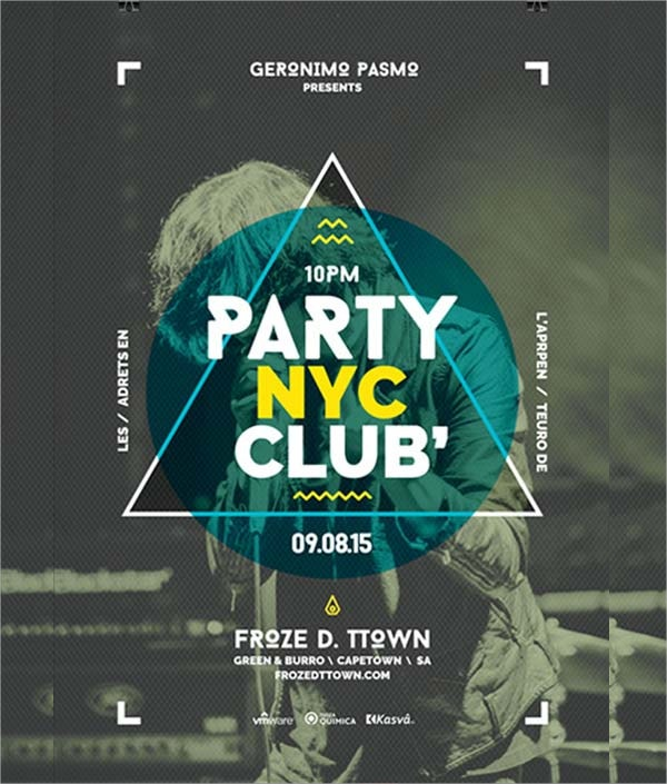 club party free flyer