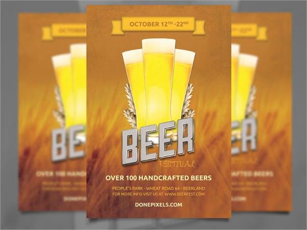 Beer Festival Free Flyer