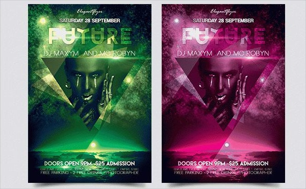 Future Flyer PSD Template
